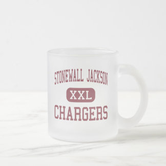 Stonewall Jackson - Chargers - Middle - Roanoke Frosted Glass Coffee Mug