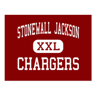 Stonewall Jackson - Chargers - Middle - Roanoke Postcard