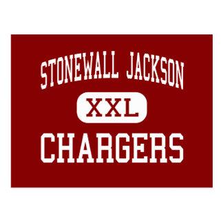 Stonewall Jackson - Chargers - Middle - Roanoke Postcard