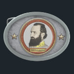 "Stonewall Jackson Civil War Belt Buckle<br><div class=""desc"">Thomas Jonathan, Stonewall, Jackson January 21, 1824 to May 10, 1863 was a Confederate general during the American Civil War, and one of the best-known Confederate commanders after General Robert E. Lee. His military career includes the Valley Campaign of 1862 and his service as a corps commander in the Army...</div>"