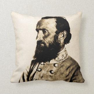 Stonewall Jackson Civil War Hero Legend Throw Pillow