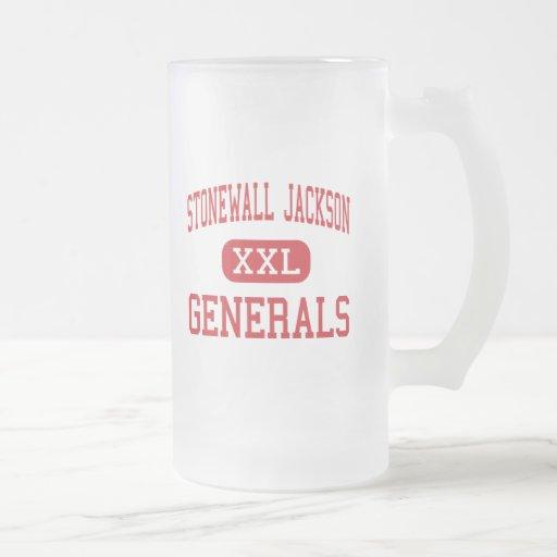 Stonewall Jackson - Generals - Middle - Charleston Coffee Mugs