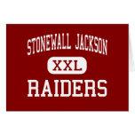 Stonewall Jackson - Raiders - High - Manassas Greeting Card