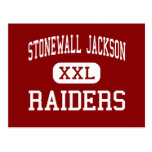 Stonewall Jackson - Raiders - High - Manassas Postcard