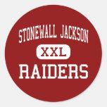 Stonewall Jackson - Raiders - High - Manassas Stickers