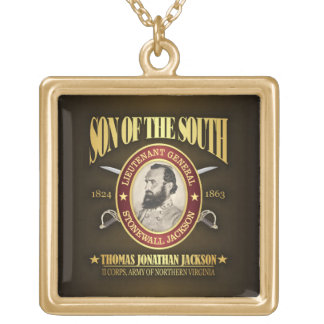 Stonewall Jackson (SOTS2) Gold Plated Necklace