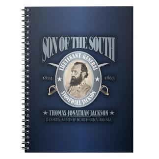 Stonewall Jackson (SOTS2) Spiral Notebook