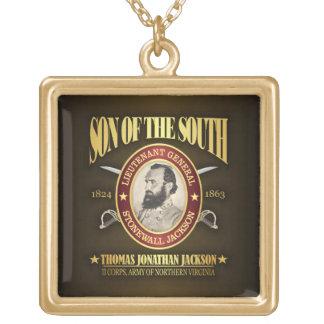 Stonewall Jackson (SOTS2) Square Pendant Necklace