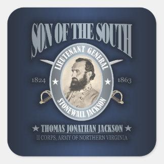 Stonewall Jackson (SOTS2) Square Sticker