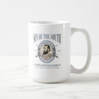 Stonewall Jackson (SOTS2) Taza Básica Blanca