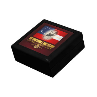 Stonewall Jackson (Southern Patriot) Keepsake Box