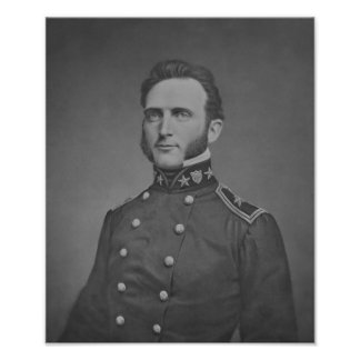 Stonewall joven Jackson -- Guerra civil Póster