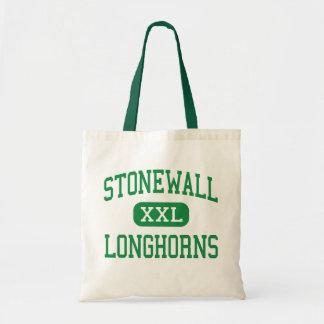 Stonewall - Longhorns - High - Stonewall Oklahoma Canvas Bags