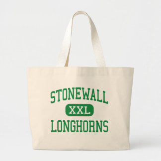 Stonewall - Longhorns - High - Stonewall Oklahoma Canvas Bag