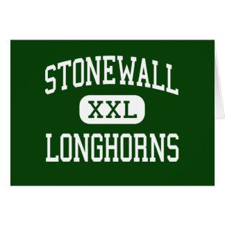 Stonewall - Longhorns - High - Stonewall Oklahoma Greeting Cards
