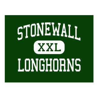 Stonewall - Longhorns - High - Stonewall Oklahoma Post Cards