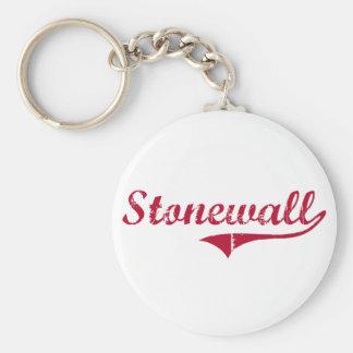 Stonewall Mississippi Classic Design Basic Round Button Keychain