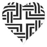 Stonewall Sentinel Celtic Knotwork Logo Heart Sticker