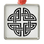 Stonewall Sentinel Celtic Knotwork Logo Metal Ornament
