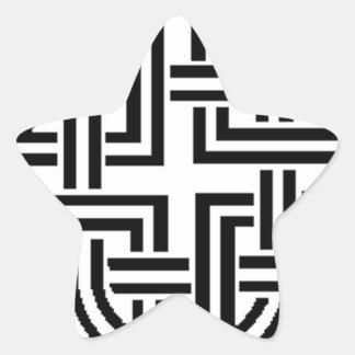 Stonewall Sentinel Celtic Knotwork Logo Star Sticker