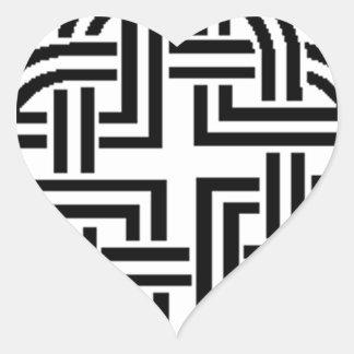 Stonewall Sentinels Logo Heart Sticker