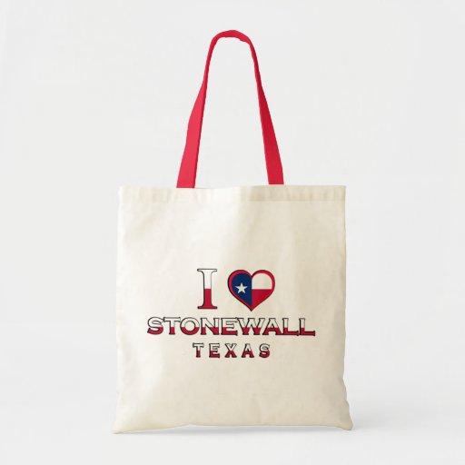 Stonewall, Texas Canvas Bag