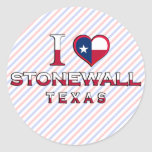 Stonewall, Texas Classic Round Sticker