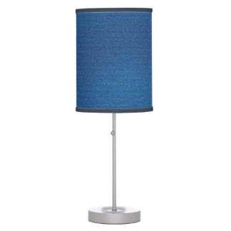 Stonewashed Jeans Table Lamp
