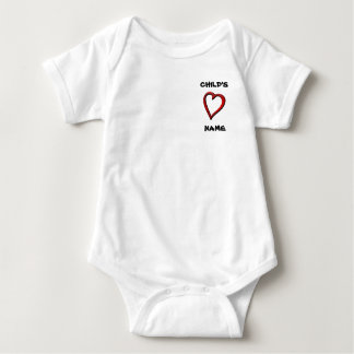 STONG HEART 6-24 month Infant Creeper