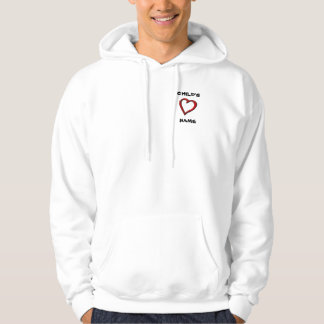 STONG HEART HOODED PULLOVER