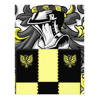 Stonier Coat of Arms Letterhead Design
