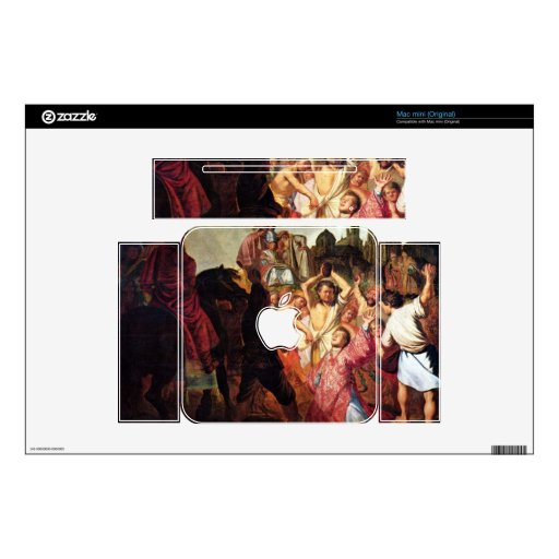 Stoning of Stephen by Rembrandt Decals For The Mac Mini