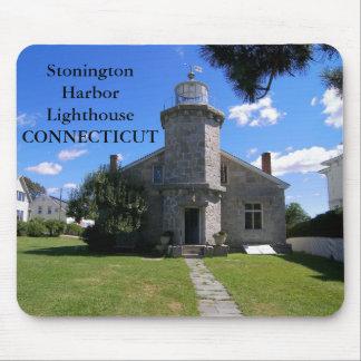Stonington Harbor Lighthouse, Connecticut Mousepad