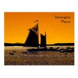 Stonington Silhouette Postcard