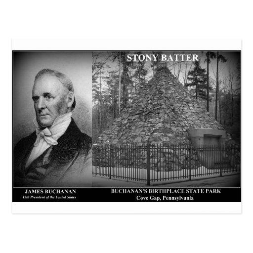 STONY BATTER - Birthplace of Pres. James Buchanan Postcards