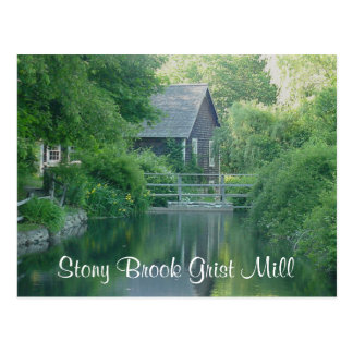 Stony Brook Grist Mill - Cape Cod Mass  Post Card