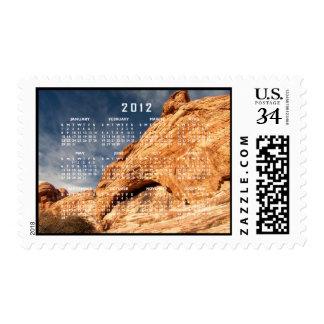Stony Contrast; 2012 Calendar Stamp