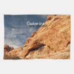 Stony Contrast; Customizable Towels