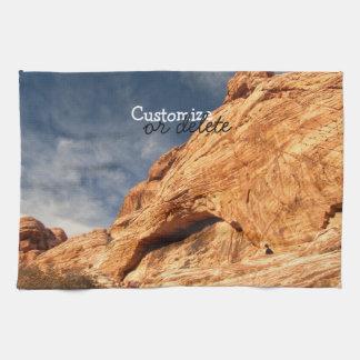 Stony Contrast; Customizable Towels
