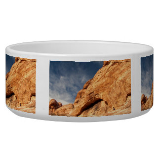 Stony Contrast Dog Water Bowls