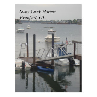 Stony Creek Harbor Postcard