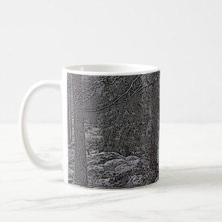 Stony forest coffee mug