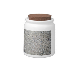 Stony Ground Background Texture Candy Jars