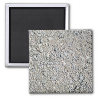 Stony Ground Background Texture Refrigerator Magnets