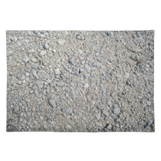 Stony Ground Background Texture Place Mat
