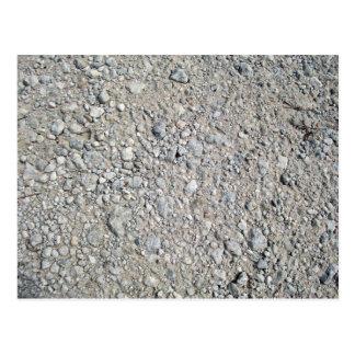 Stony Ground Background Texture Postcard