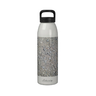 Stony Ground Background Texture Water Bottle