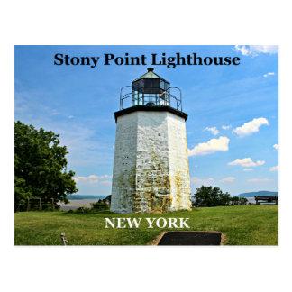 Stony Point Lighthouse New York Postcard