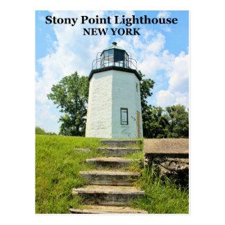 Stony Point Lighthouse, New York Postcard