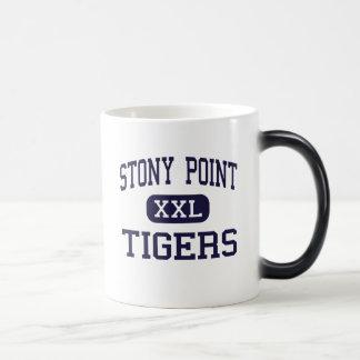 Stony Point - Tigers - High - Round Rock Texas 11 Oz Magic Heat Color-Changing Coffee Mug